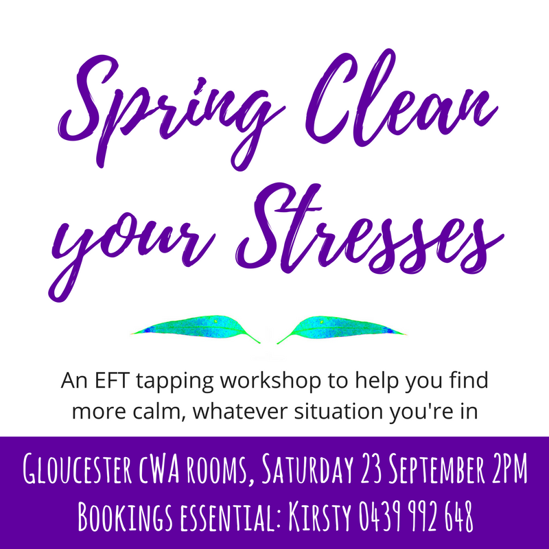 EFT workshop: Gloucester, 23 September